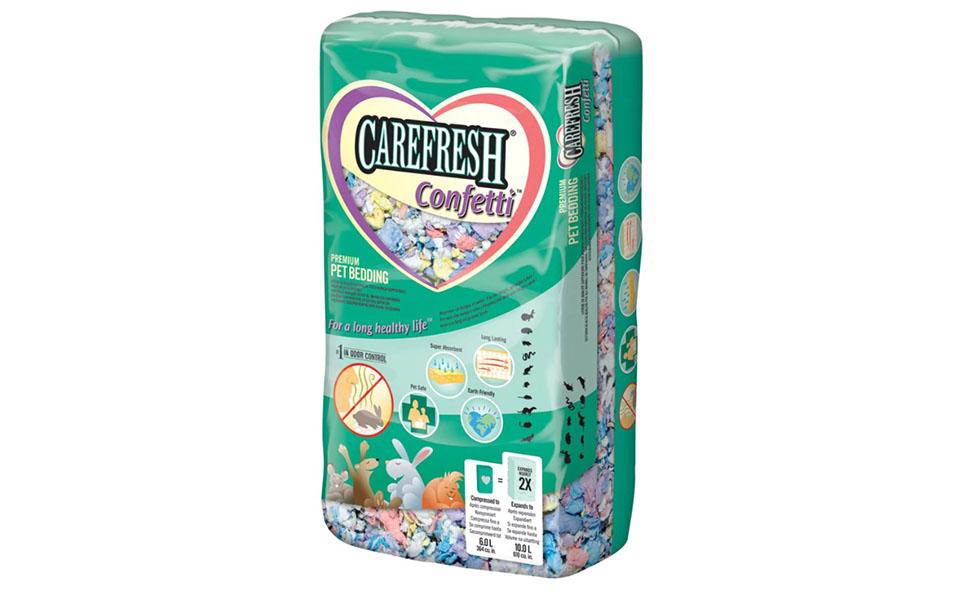 Asternut pentru rozatoare Care Fresh Confetti.